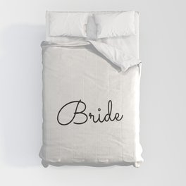 Bridesmaid, Bachelorette, Maid of Honor Wedding Comforters
