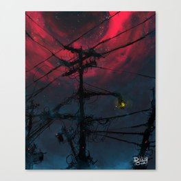 N.  Neighborhood Canvas Print