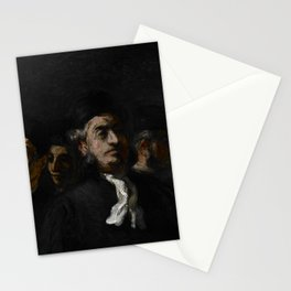 "Honoré Daumier ""A Meeting of Lawyers"" Stationery Cards"