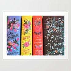 Floral Classics - Close Up Art Print
