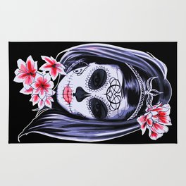 Day of the Dead Girl Rug