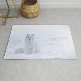 Arctic Fox (Color) Rug