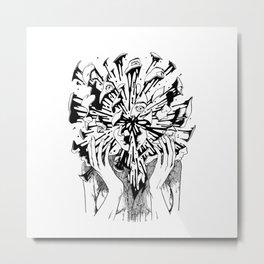 Burst Metal Print