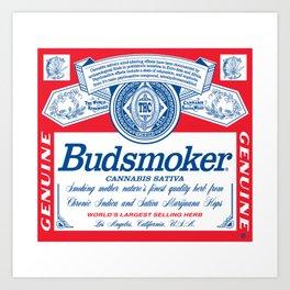 BUDSMOKER Art Print