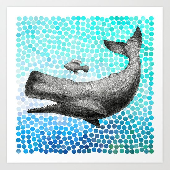 New Friends 3 by Eric Fan and Garima Dhawan Art Print