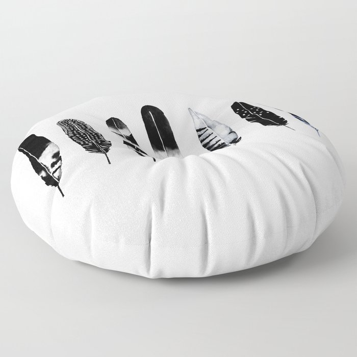 Feather Tribe Floor Pillow