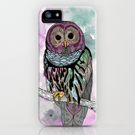 Mike The Magic Owl iPhone Case