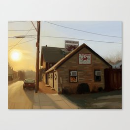 The Tap Room Canvas Print