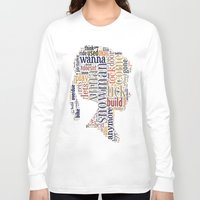 anna Long Sleeve T-shirts featuring Anna by MollyW