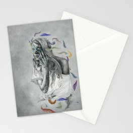 Floats Away Stationery Cards