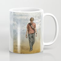 charlie Mugs featuring Charlie by Jackie Sullivan
