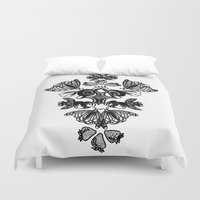 insects Duvet Covers featuring Insects by Sierra Neale