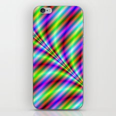 Neon Stripes iPhone & iPod Skin