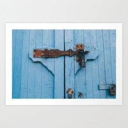 Blue Lock Art Print