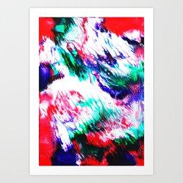 Colorful Fluctuation Art Print