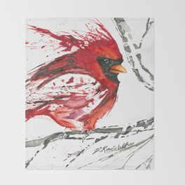 Cardinal Direction Throw Blanket