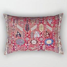 Shekarlu Qashqa'i Fars Southwest Persian Carpet Print Rectangular Pillow