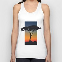 africa Tank Tops featuring Africa by Trevor Seymour