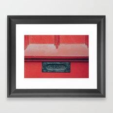Papers Framed Art Print