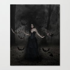 Mistress of the Bats Canvas Print
