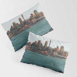 Auckland, New Zealand Travel Artwork Pillow Sham