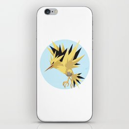 Zapdos Illustration iPhone Skin