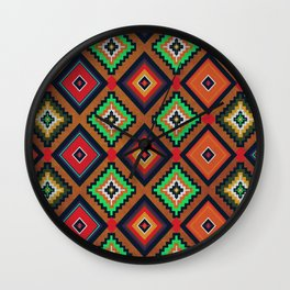 Indi-abstract#04 Wall Clock