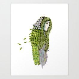 Ela. Defoliating Art Print
