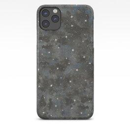 Watercolor Black Starry Sky Robayre iPhone Case