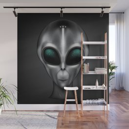 The Visitor Wall Mural