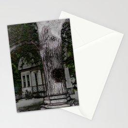 ye olde oak tree Stationery Cards
