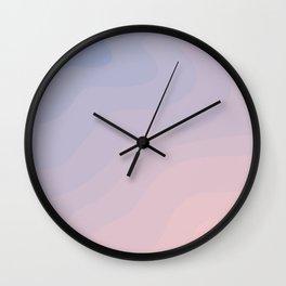 Rose quartz & Serenity Wall Clock