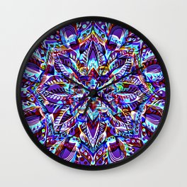Divine Intention 3: Purple Wall Clock