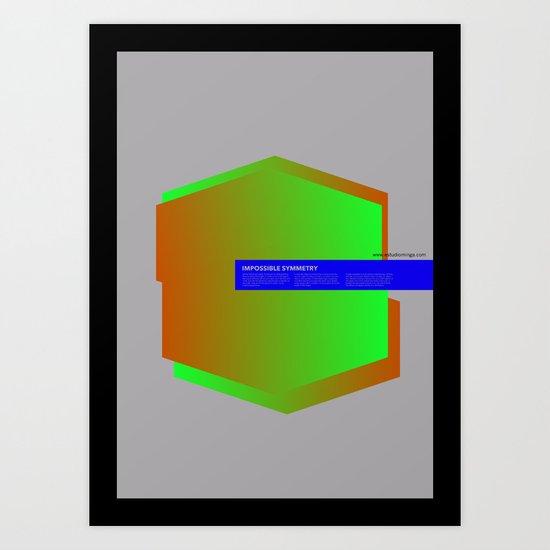 Impossible Symmetry - Ex Art Print
