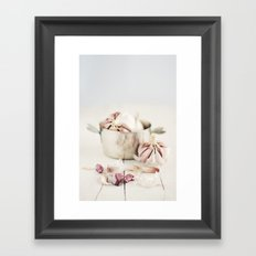 Ajos. Framed Art Print