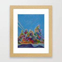 Jet Set Framed Art Print