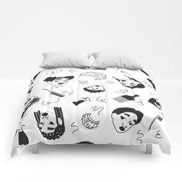 Curl Pattern Comforters