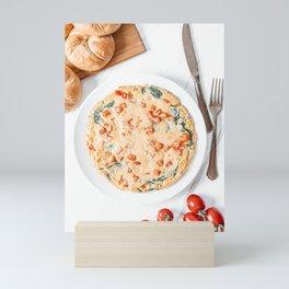 Egg Omelette Breakfast, Food Photography Print, Kitchen Print, Restaurant Cuisine Art Print Mini Art Print