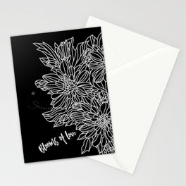 Blooms of Love_Midnight Stationery Cards