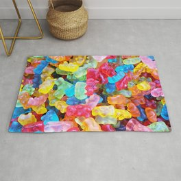 Gummy Bear Don't Care Rug