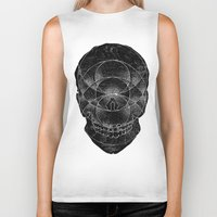 third eye Biker Tanks featuring Third Eye by Hawks & Hounds