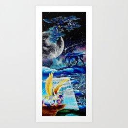 MLP, Alicorn, Princesses Art Print