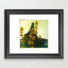 The Eiffel Flower (for Canvas) Framed Art Print