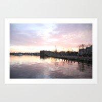 An Annapolis Sunset Art Print