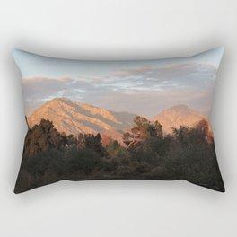 Near Sunset Rectangular Pillow