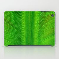 banana leaf iPad Cases featuring Banana Leaf by moo2me