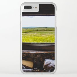 View from the Yellow House, Arena, North Dakota 1 Clear iPhone Case
