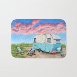 The Happy Camper Bath Mat