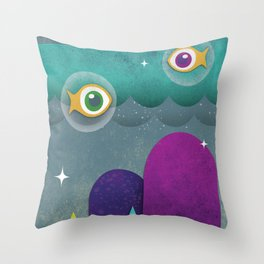 Lakeshore Drive #3 Throw Pillow