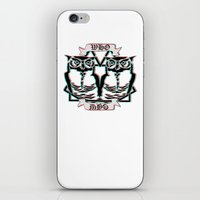 the who iPhone & iPod Skins featuring Who by VirgoSpice